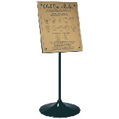 Dress Rules Sign - Clear cover - prevents tampering, Traditional Style-Black on Gold or Silver, Designed to suit your Dress Rules, Wall or Self Standing