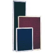 Poster Frames - Round or square (mitred) corners, Satin Silver , Bright Silver, Gold, Black or White, Any size made to order - Indoor or Outdoor use